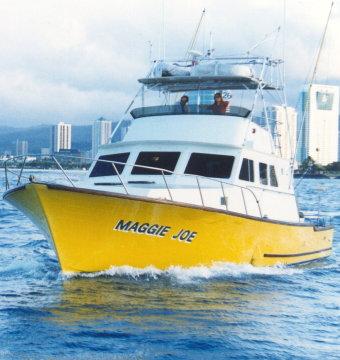 Inter island sportfishing maggie joe hawaii travel network for Fishing charters oahu